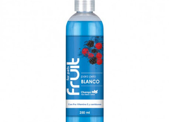 Fruit for Pets Champu Pelo Blanco 250ml