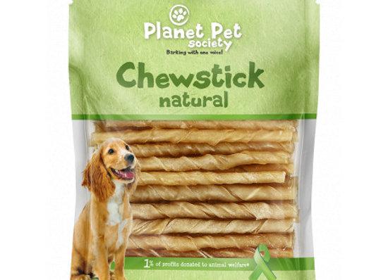 Planet Pet chewstick natural 13cm-400gr-80ud