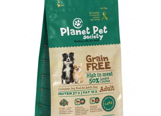 Planet Pet Grain Free Cordero y Patatas 2,5Kg