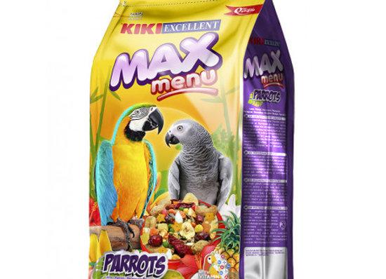 Kiki Max Menu Loros Y Cotorras 1 Kg
