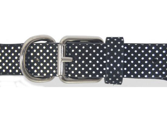 Collar Topitos Negro 45cm