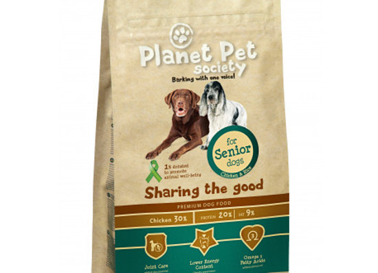 Planet Pet Senior Pollo 15 kg