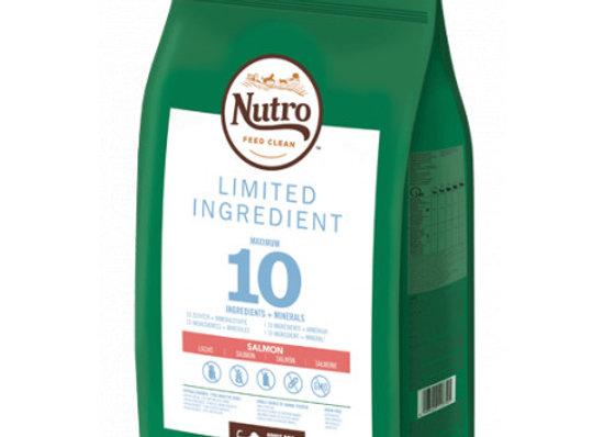 Nutro Limit ingredient adult med salmón 9,5k