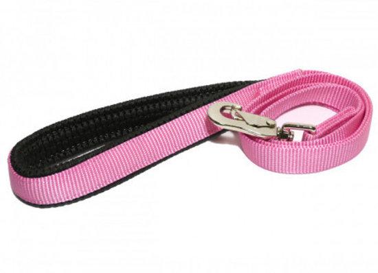 Rosewood Correa nylon neopreno rosa 100cm x 20mm