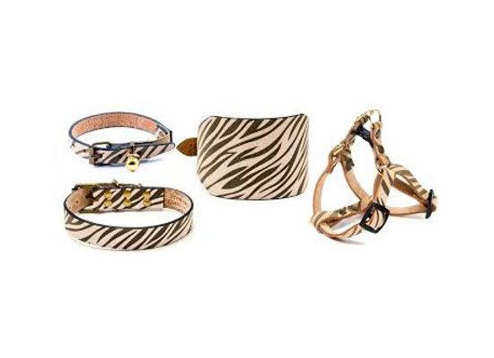 Collar Artleather Nobuk Cebra 60cm