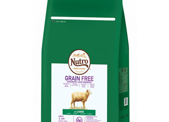 Nutro Grain free adult mini cordero 7kg