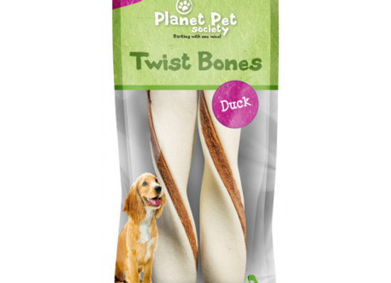 Planet Pet Rollito Dental Pato 2uds. 130gr