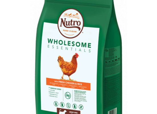 Nutro Wholesome adult med pollo 11kg