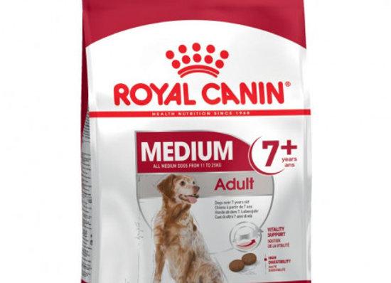 Royal Canin Medium Adult 7+ 4kg