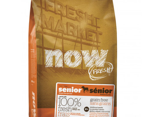 Now Fresh Grain Free Senior Dog 11.3kg