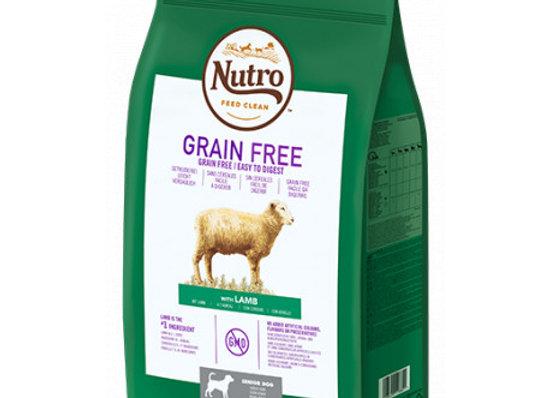 Nutro Grain Free Senior cordero 11,5kg