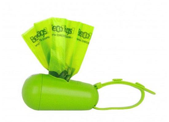 Beco Pod dispensador de bolsas verde