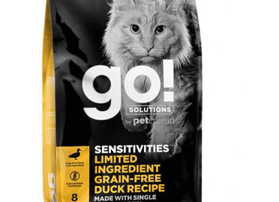 GO! SENSITIVITIES Limited Ingredient Grain Free Duck Cat 1,4kg