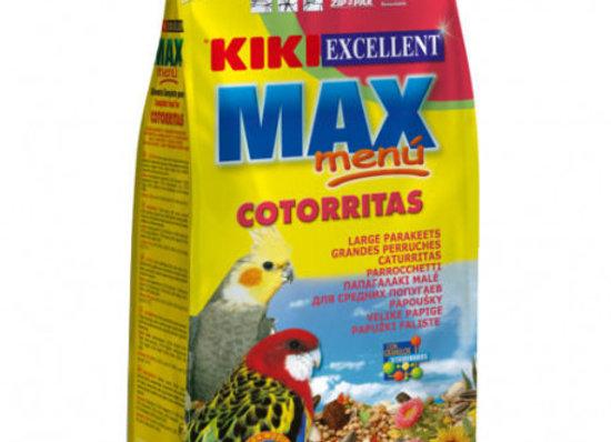 Kiki Max Menu Cotorritas 1 Kg