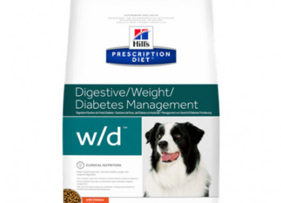 Hills Diet Canine w/d 4 kg