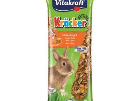Vitakraft Barritas Conejos Enanos Miel 2 unidades