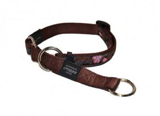Collar semiahogo Rogz Choc Feminine Armed Respo