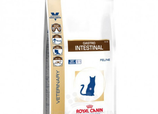 Royal Canin Diet Feline Gastro Intestinal GI32 2kg