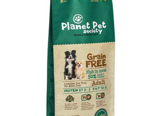 Planet Pet Grain Free Cordero y Patatas 12Kg