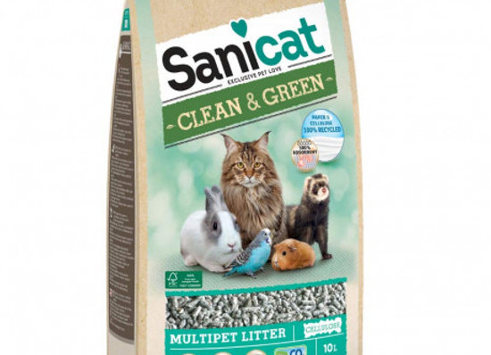 Sanicat clean&green celulosa 10 L
