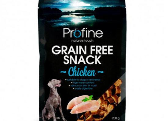 Profine Grain Free Snack Chicken 200gr