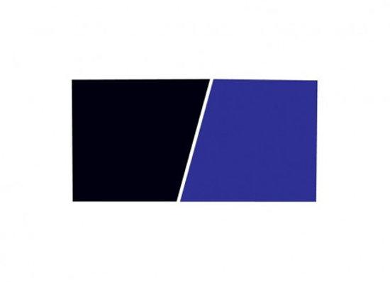 Marina Fondo 120x60 cm Plano Azul / Negro