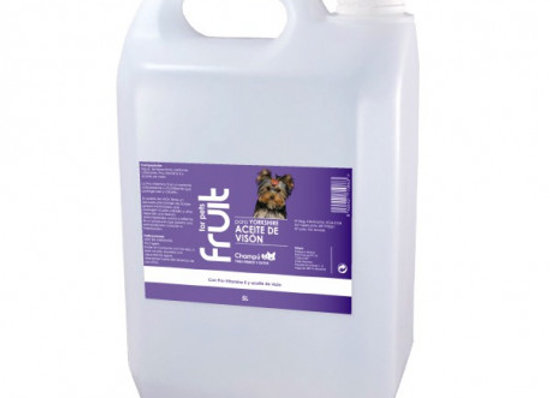Fruit for Pets Champu Yorkshire 5L