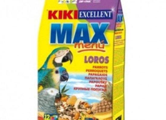 Kiki Max Menu Loros Y Cotorras 2,5 Kgs