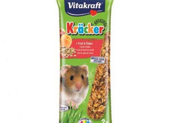 Vitakraft Barritas Hamsters Fruta 2 unidades