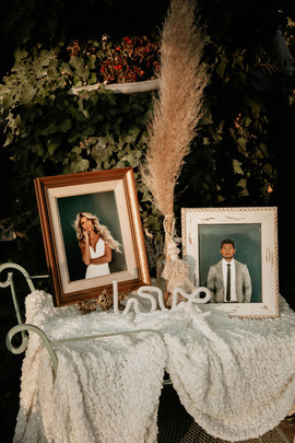Navy & Payton Picture Display