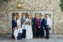 Winter Wedding at The Bungalow