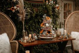 Navy & Payton Cake Table & Decor