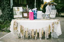 GIFT TABLE WITH DECOR