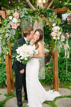 OUTDOOR CEREMONY ARCH