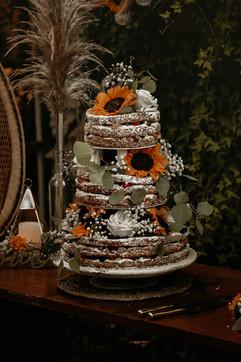 Navy & Payton Torte Cake