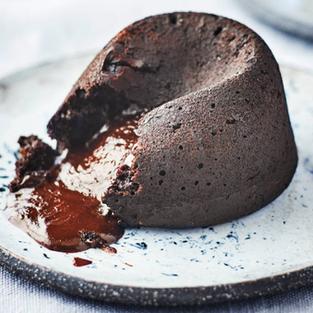 24914 Vegan Chocolate Fondant