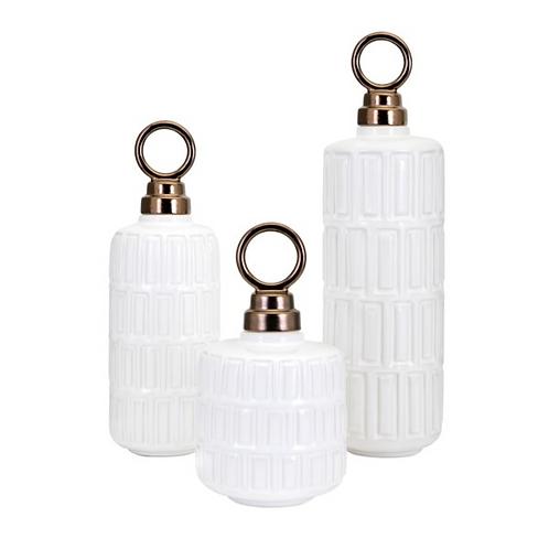 Nakasa Hadley Ceramic Jars - Set of 3