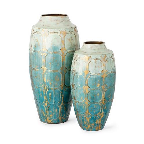 Ramirez Metal Vases - Set of 2