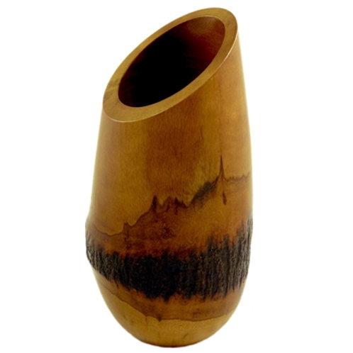 Mango Wood Bark Vase