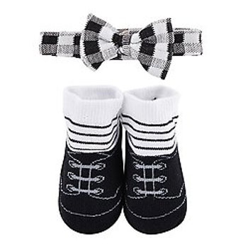 Bow tie & Stripe Sock Set