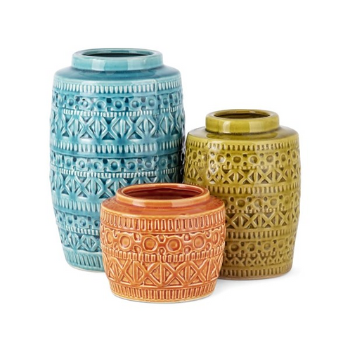 Cooper Vases - Set of 3