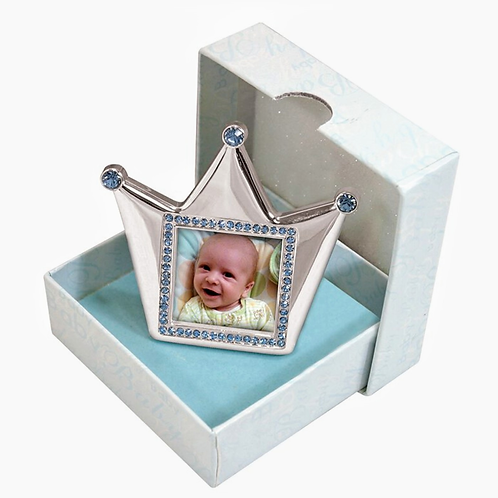 Blue Royalty Silver PhotoFrame