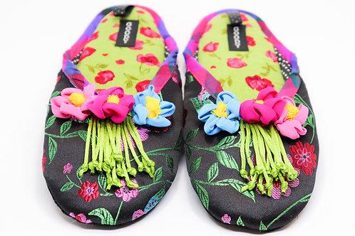 Fashionable  Backless Women's Slipper - 2 Fun Patterns