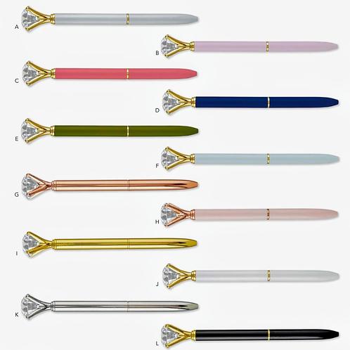 Solid Gem Pens - 8 Great Colors