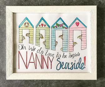 Nanny - gift frame