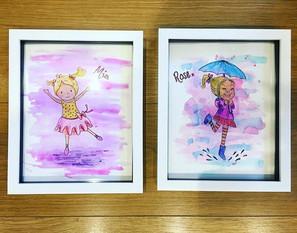 Sister gift frames
