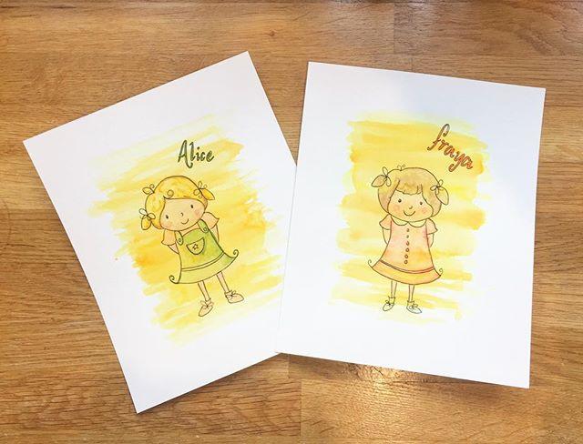 Sister gift illustrations