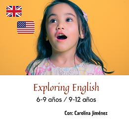 ¡Exploring English!