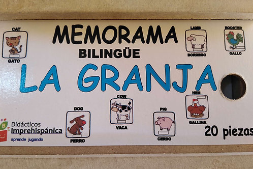 """Memorama """"La granja"""""""