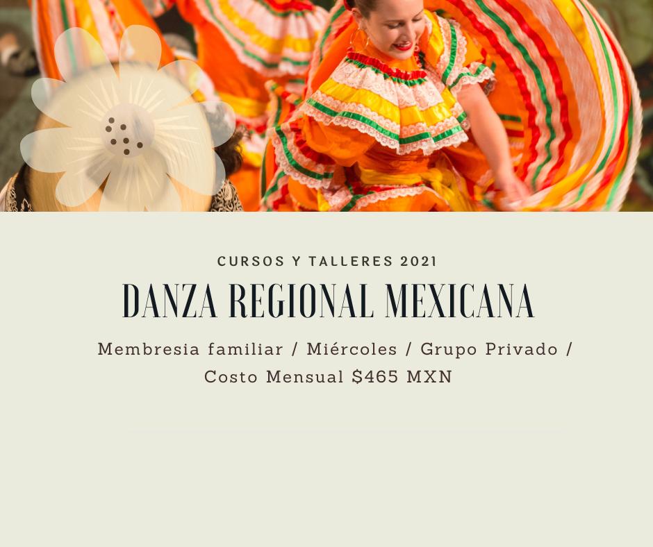 Curso de Danza Regional Mexicana